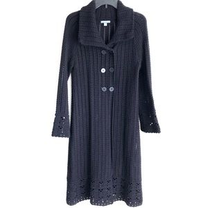 Apt 9 Snap Front Open Knit Cardigan Sweater